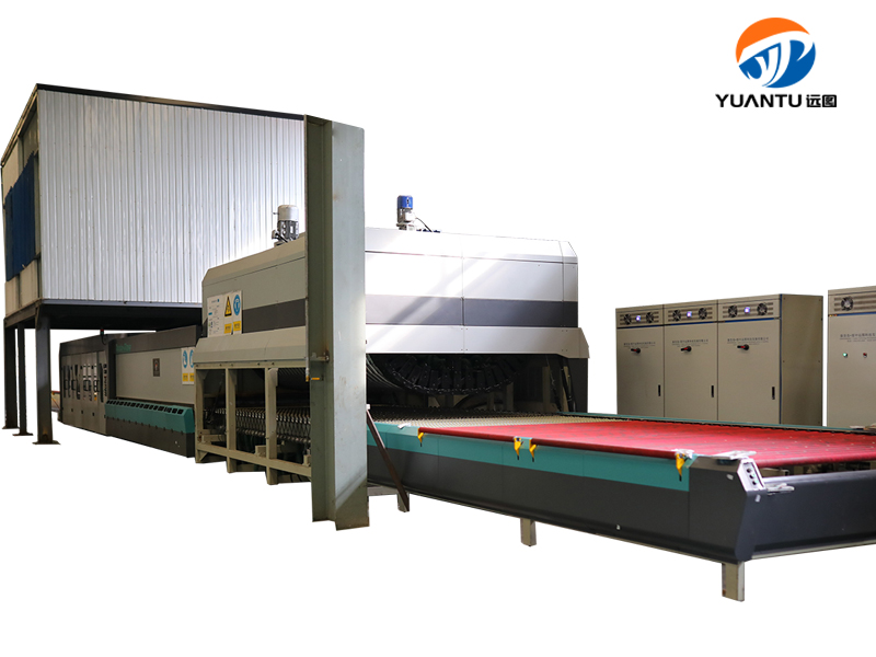 2 Flat&bent glass tempering furnace YTPW4224-Z36