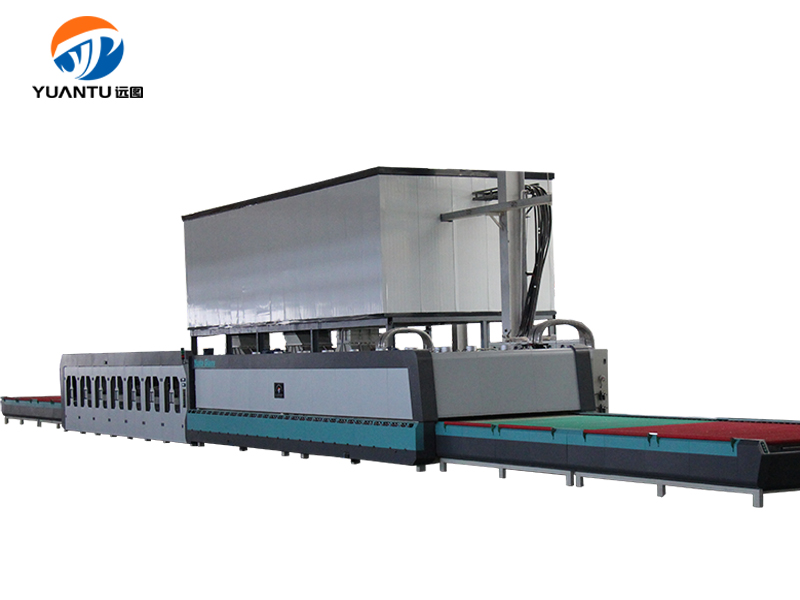 A Type Double Chamber Glass Tempering Furnace