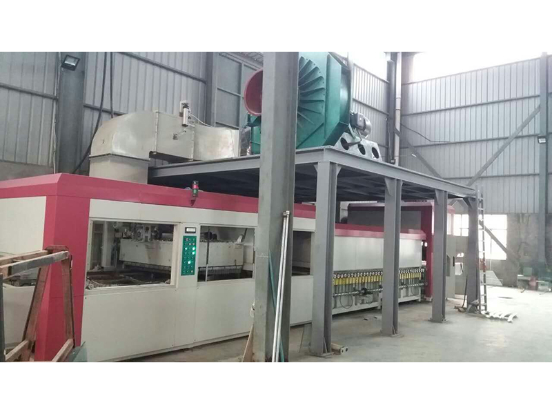 Bent glass tempering furnace for autos YTPW3015