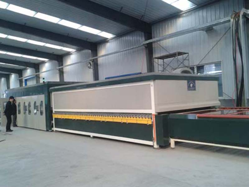 Convection heating glass tempering furnace YTP4224 in Qinhuangdao